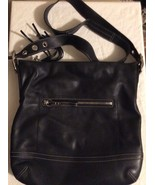 COACH Black Leather Purse SKU  H05S-1414 - $34.64