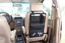 Home Basics NEW Black Back Seat Organizer with Mesh Pockets for Car - CS... - £16.02 GBP