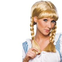 Wig - Cowgirl - Adult Ladies Womens Washable Country Blonde Braids - $9.00