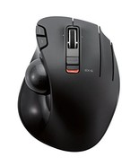 Elecom wireless mouse track ball 6 button black M-XT3DRBK from Japan - $74.00