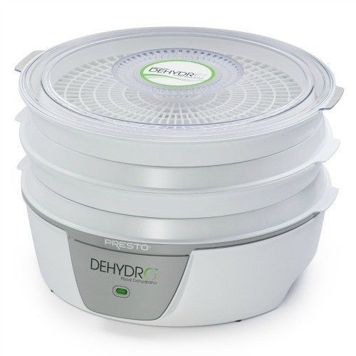 Electric Food Dehydrator Presto Trays Jerky Fruit Roll Dried Vegetables Meat New - $58.89
