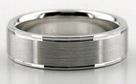 PLATINUM MENS WOMENS WEDDING BAND RING PLATINUM 6MM WEDDING RINGS COMFOR... - $1,107.09