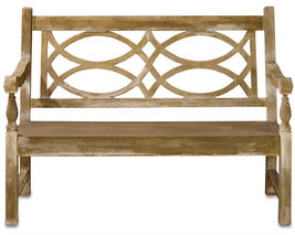 Currey & Company 2724 Hatfield Bench - $2,310.00