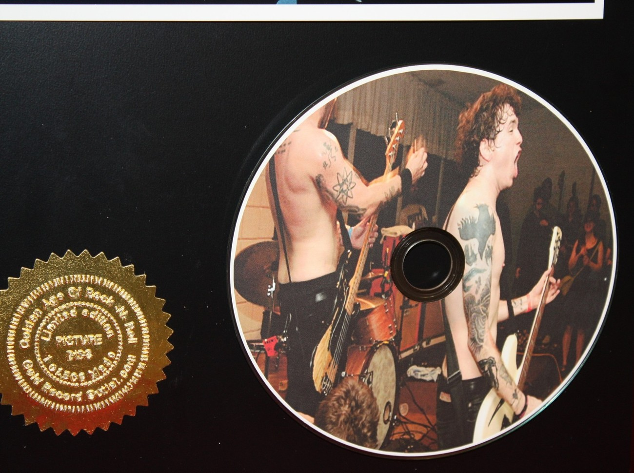 AGAINST ME LTD EDITION PICTURE CD COLLECTIBLE AWARD QUALITY DISPLAY