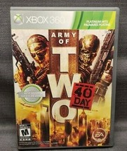Army of Two: The 40th Day Platinum HIts (Microsoft Xbox 360, 2010) Video Game - $8.86