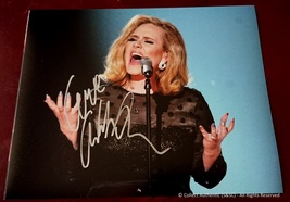 Adele Autographed Glossy 8x10 Photo - $179.00