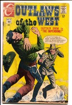 Outlaws Of The West #67 1967-Charlton-Capt Doom-FR/G - $18.92