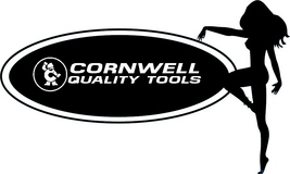 Cornwell Tools Sexy Girl Decal Sticker Car Truck Laptop ToolBox Guitar T... - $4.00+