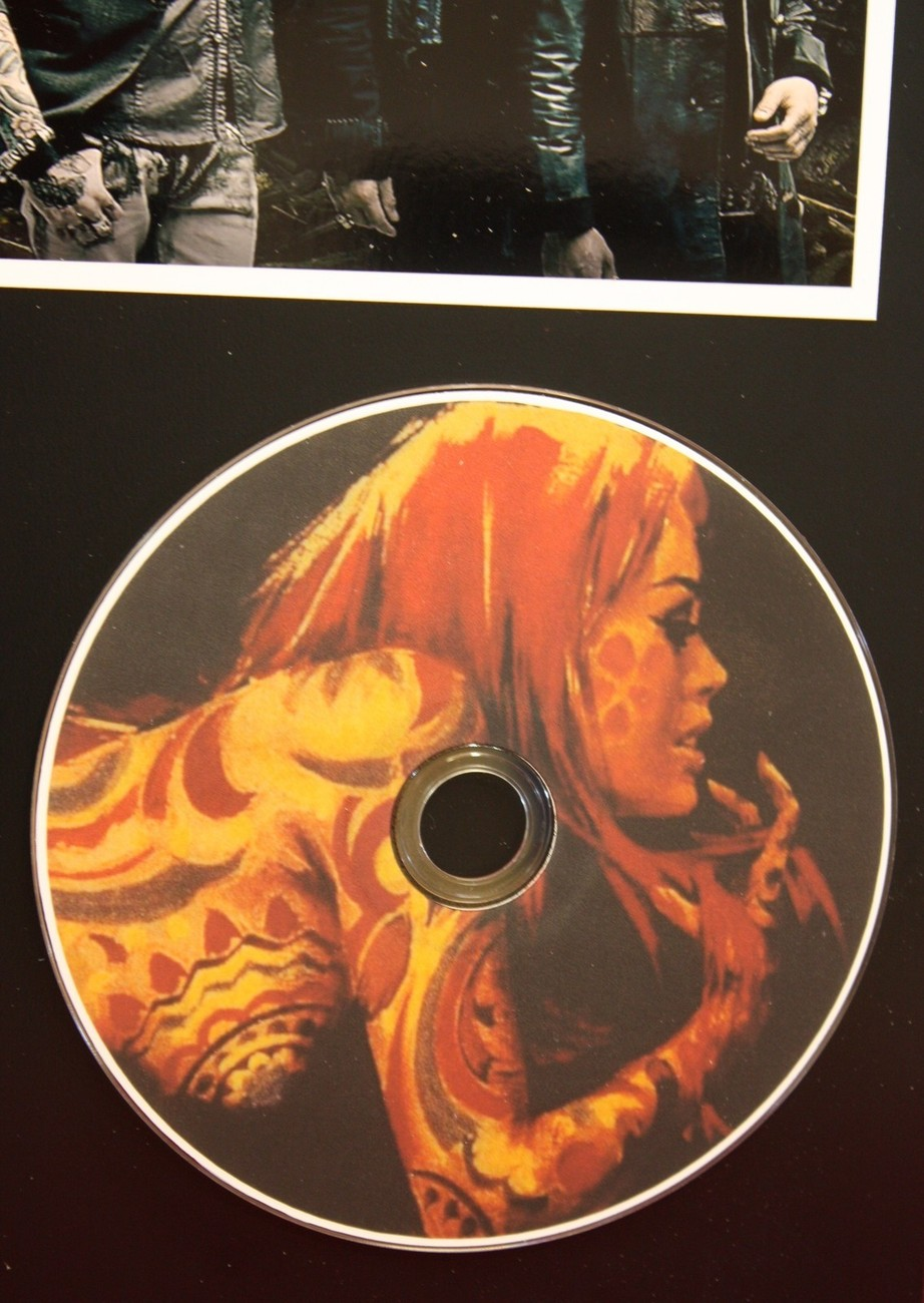 BUCKCHERRY  LTD EDITION PICTURE CD DISC COLLECTIBLE RARE GIFT WALL ART