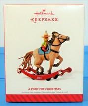 A Pony For Christmas 2014 Hallmark Keepsake Ornament Series #17 - $15.90