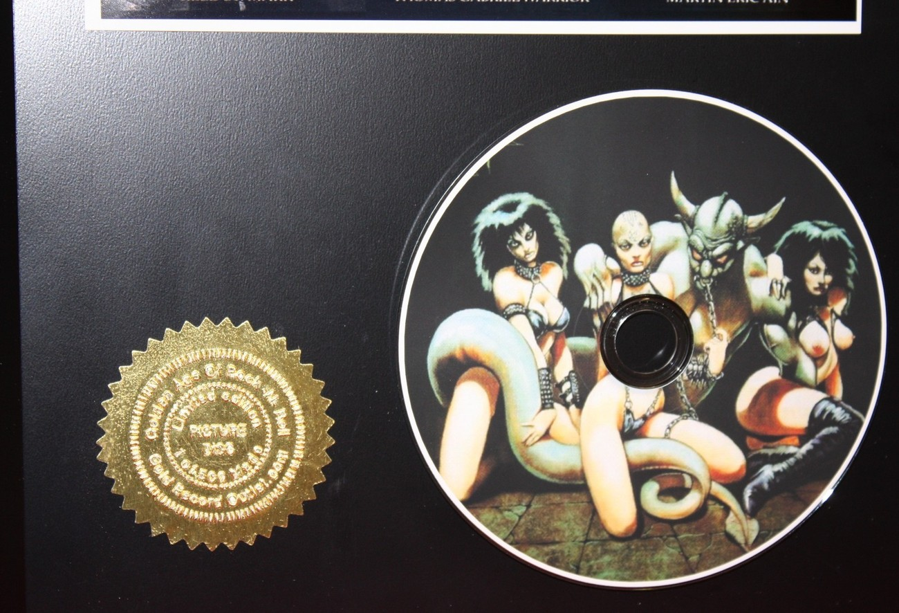 CELTIC FROST LTD EDITION PICTURE CD COLLECTIBLE AWARD QUALITY DISPLAY