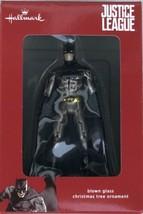 Hallmark Justice League Batman Christmas Holiday Blown Glass Ornament - New - $9.95