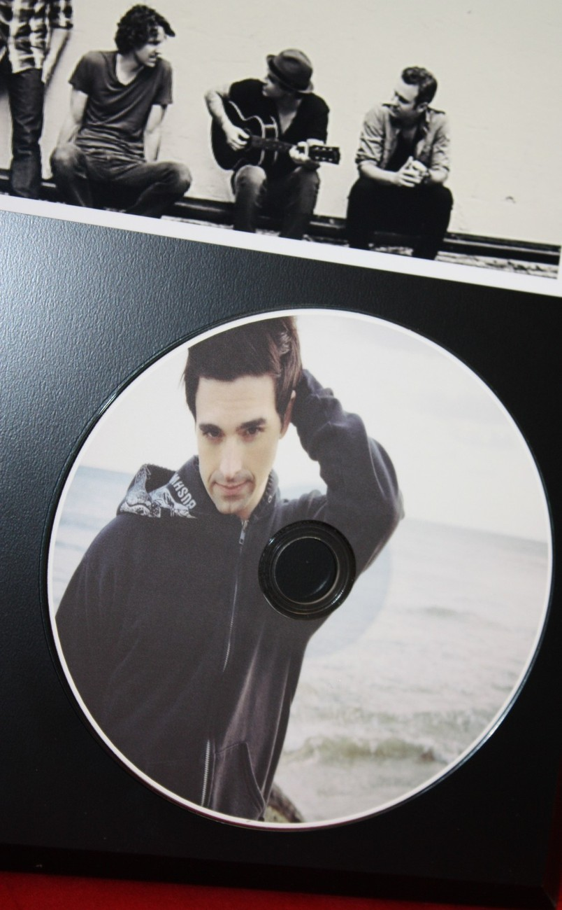 DASHBOARD CONFESSIONAL LTD EDITION PICTURE CD DISC  AWARD QUALITY DISPLAY