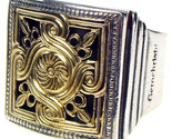 02002236 gerochristo 2236 medieval byzantine silver gold ring 1 thumb155 crop