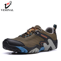 Casual Sneakers Shoes New Male Breat 2018 For Walking Arrival VESONAL Men Brand qB5v6AS