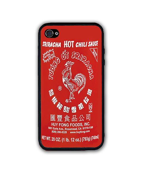 Pho Red Sriracha Hot Chili Sauce iPhone Case - Rubber Silicone iPhone 5 Case for sale  USA