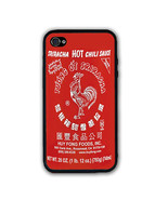 Pho Red Sriracha Hot Chili Sauce iPhone Case - Rubber Silicone iPhone 4 ... - $10.99