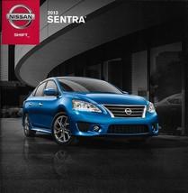 2013 Nissan SENTRA sales brochure catalog US 13 SV SR SL FE+ - $6.00