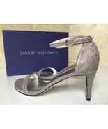 Stuart Weitzman Womens Nunaked Multi Noir Ankle Strap Heels Size 8.5 M - $136.61