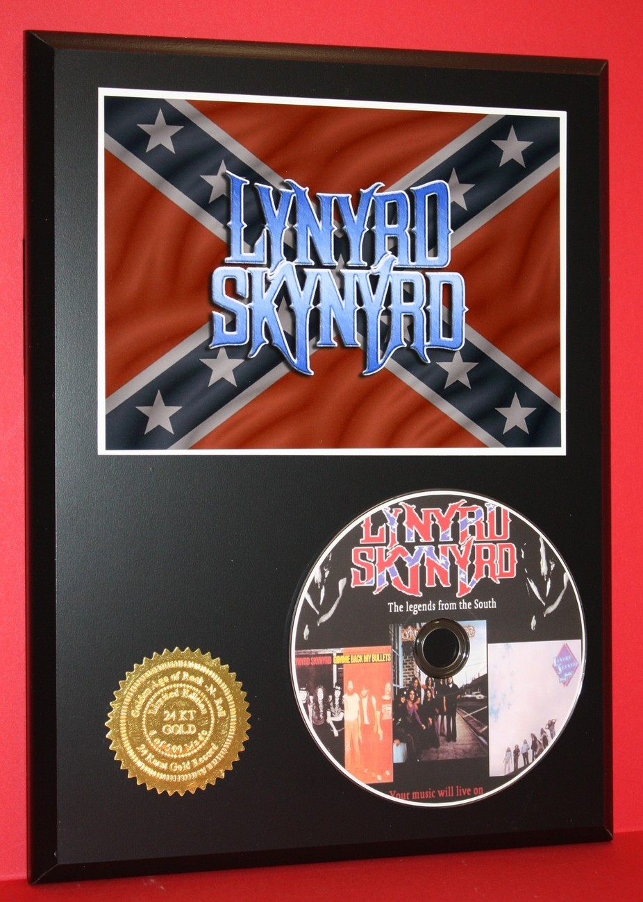 LYNYRD SKYNYRD LIMITED EDITION PICTURE CD DISC COLLECTIBLE RARE MUSIC DISPLAY