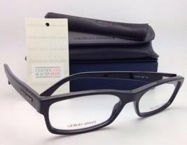 Neu Giorgio Armani Brille Ga 866 D9m 54-16 Schwarze Plastik Rahmen W / Demo - $199.60