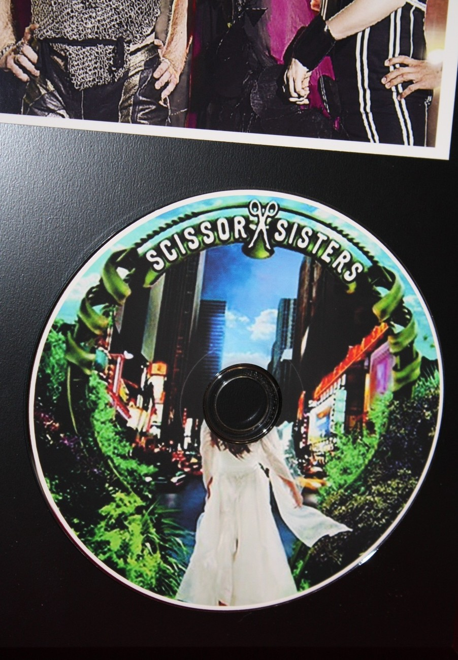 SCISSOR SISTERS LIMITED EDITION PICTURE CD DISC COLLECTIBLE RARE GIFT WALL ART
