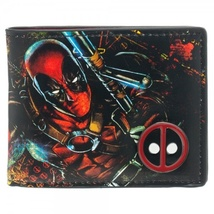 Deadpool: Emblem Bi-Fold Metal Badge Wallet NEW! - $23.99