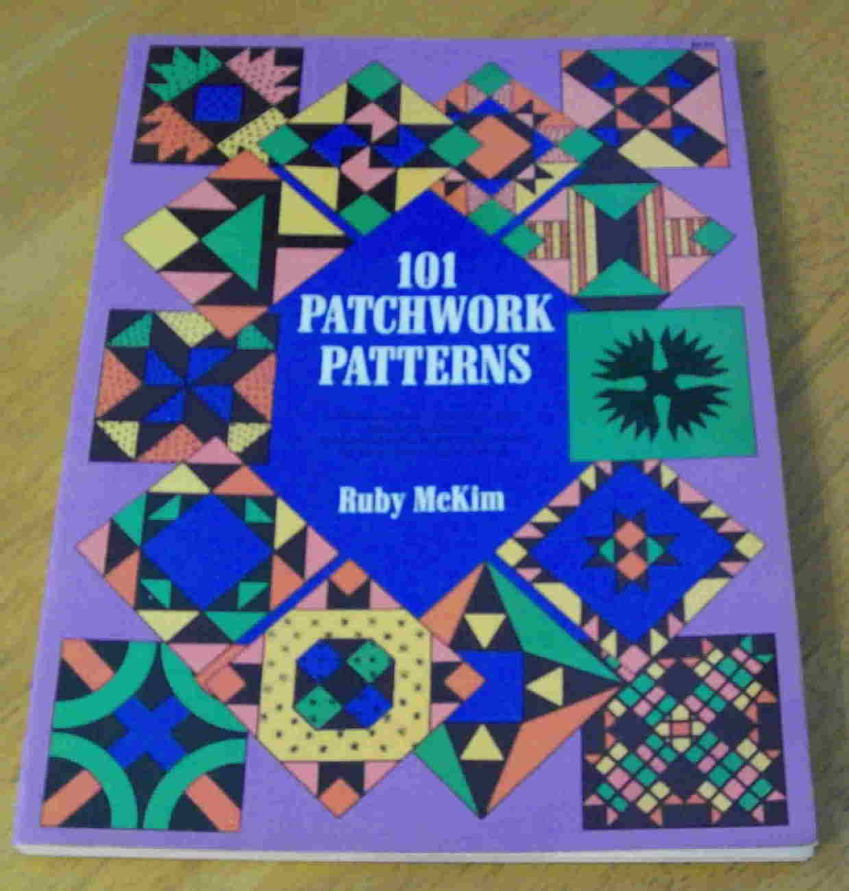 101 patchwork patterns quilting
