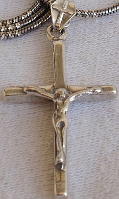 Primary image for Cross KL  silver  pendant