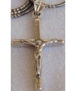 Cross KL  silver  pendant - $23.00