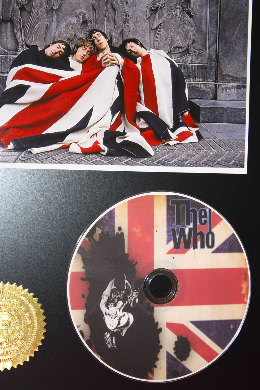 WHO LIMITED EDITION PICTURE CD DISC COLLECTIBLE RARE MUSIC DISPLAY