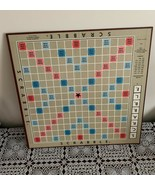 Vintage 1976 Scrabble Game Board Replacement Part For Dog Rescue Charity - £6.11 GBP