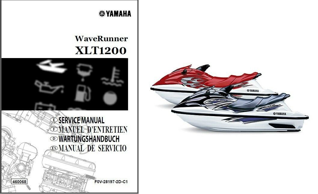 Yamaha Waverunner Xlt1200 Service Repair Manual Cd