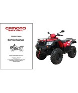 CF Moto CF500 / CF500A Moose Tracker Service Repair Manual CD  - CFMoto ... - $12.00