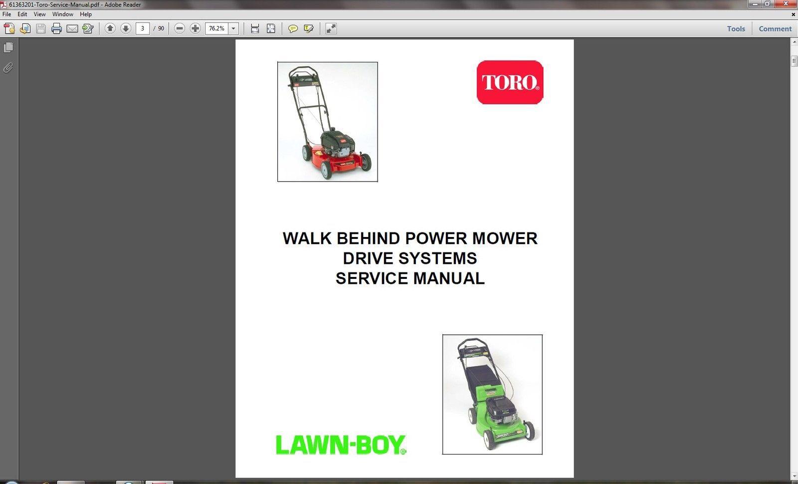 toro lawn boy walk behind power lawn mower and 50 similar items