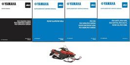 02-06 Yamaha RX1 Snowmobile Service Repair & Owner Manual CD - RX 1 RX-1 - $12.00