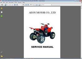 Aeon Cobra 220 ATV Service Repair Manual CD - $12.00