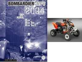 2004 Can-Am DS 650 Baja X  ATV Service Repair Manual CD - BRP Bombardier CanAm - $12.00