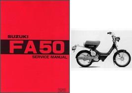 Suzuki FA50 Moped Service Repair Workshop & Owner's Manual CD  -  FA 50 - $12.00