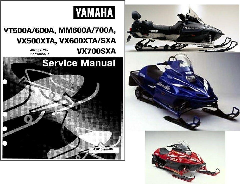 99 06 yamaha venture mountain max v max 500 600 700 for 500 yamaha snowmobile