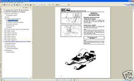 1988-1990 Yamaha Enticer LTR 340 400 Snowmobile Service Manual CD - $12.00