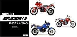 1992-1995 Suzuki DR650R DR650S Service Repair Manual CD  ----  DR650 R S  DR 650 - $12.00