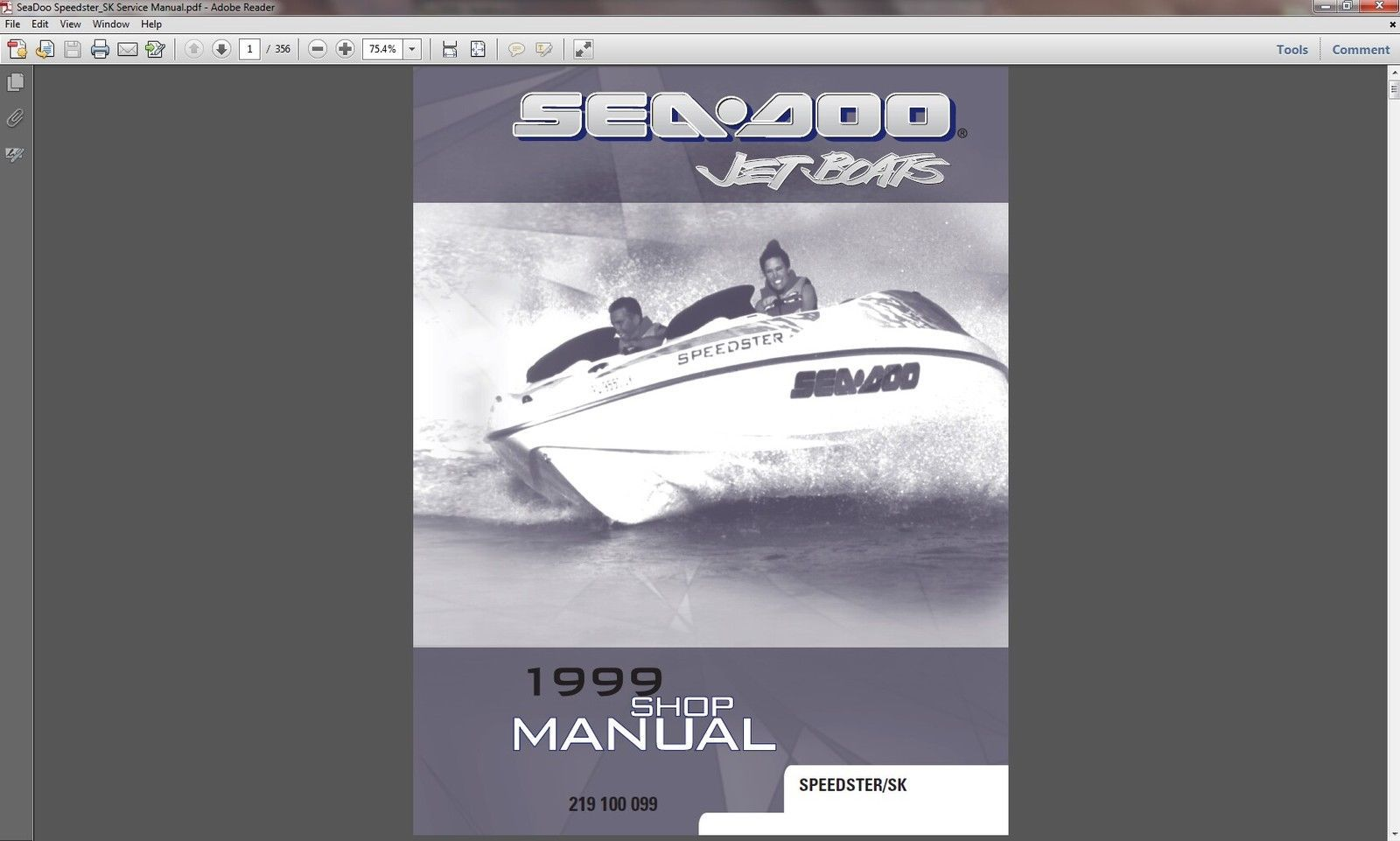1999 sea doo speedster sk jet boats and 20 similar items rh bonanza com 1995 Seadoo Speedster Battery Conversion Fuse Diagram 1995 Seadoo Speedster