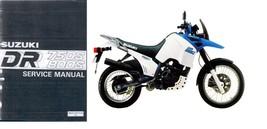 89-97 Suzuki DR750S DR800S Big Service Repair Manual CD - DR 750S 800S 700 800 S - $12.00