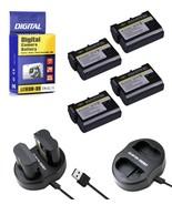 EN-EL15-Battery-for-Nikon-DSLR-D7200-D7100-D7000-D810-D800-D750-D610 + C... - $8.99