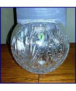 Waterford Artisan Rose Bowl New in Box and Beautiful!!! - $164.95
