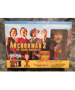 Anchorman 2 Limited Edition Gift Set w/Ron Burgandy Bobble Head Comedy G... - $59.40