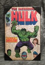 Marvel Comics The Incredible Hulk #116 Wooden Wall Art Brand New - $31.68