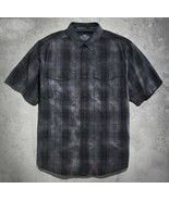 Special Buy Men's Harley Davidson Adrenaline Plaid Shirt Size Medium - $74.25