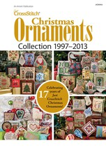 Just Cross Stitch Christmas Ornaments 1997-2013... - $27.00